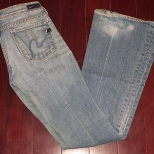 Citizen of Humanity Low Waist Flare Jeans sz26